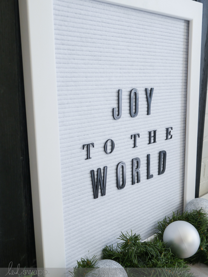 How to Keep the Joy This Christmas | @jamiepate for @heidiswapp