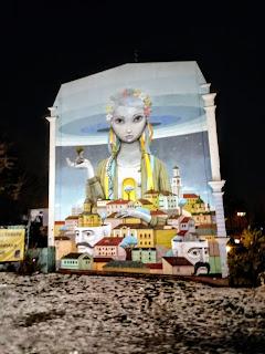 Odrodzona Ukraina- mural