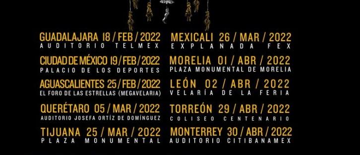 Caifanes Tour Mexico 2022