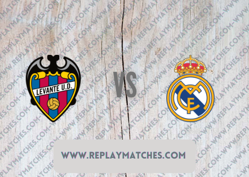 Levante vs Real Madrid -Highlights 22 August 2021