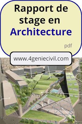 rapport de stage architecture pdf, rapport de stage architecture master, rapport de stage architecture licence, rapport de stage architecture,