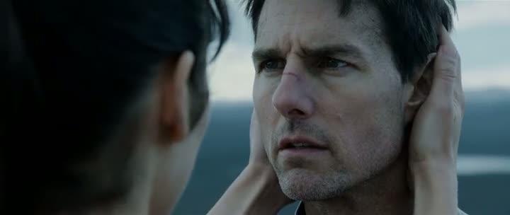Screen Shot Of Oblivion (2013) Dual Audio Movie 300MB small Size PC Movie টম ক্রুসের নতুন সাইন্স ফিকশন মুভি - Oblivion (2013) 375MB হিন্দিতে (Triple Audio)