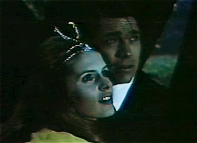 """Susan Brodick and Chad Everett in """"Poor Butterfly,"""" Journey to the Unknown, 1969"""