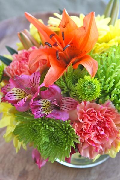 Grocery Store Flower Arrangement A Homemade Living