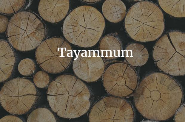 cara tayammum