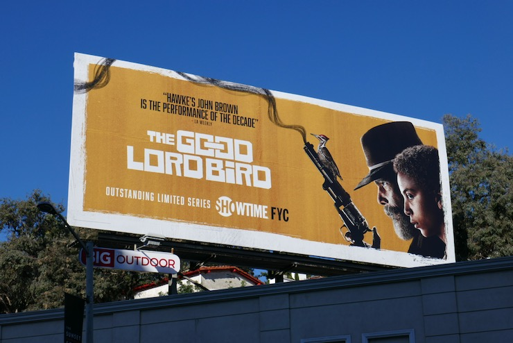 Good Lord Bird FYC billboard