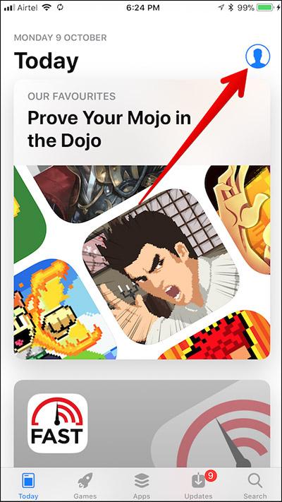 Menginstall kembali Aplikasi Hilang Di iPhone iPad