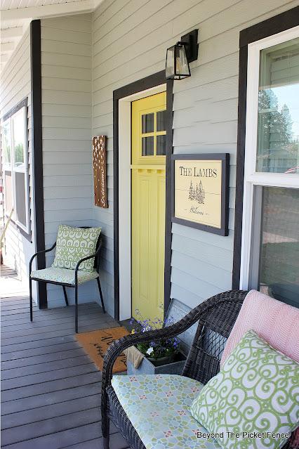 Summer Porch Decor