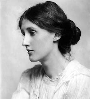 Retrato de la escritora Virgina Woolf, de joven