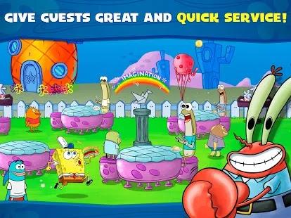 SpongeBob Krusty Cook-Off Screenshot