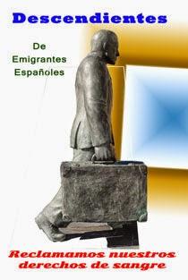 Derechos de descendientes de emigrantes españoles