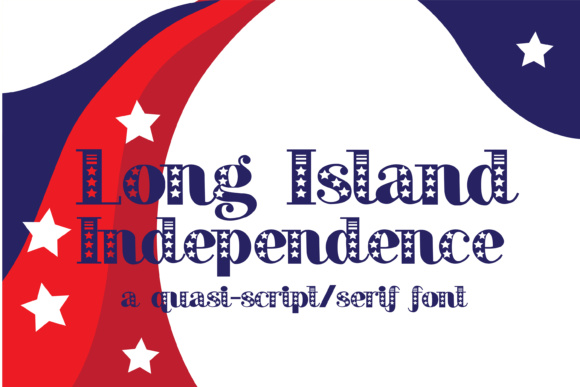 Long Island Independence Script Font