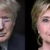 Sondeos oscilan un empate técnico y una leve ventaja de Clinton sobre Trump