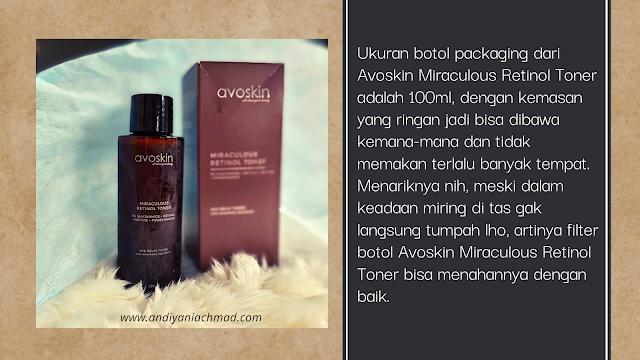Review Avoskin Miraculous Retinol Toner