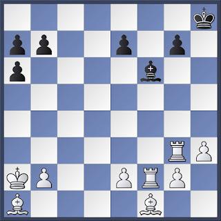 Diagrama de ajedrez con posiciones imposibles