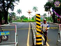 "Jadwal Penutupan Jalan Veteran - Jalan Ijen Sebagai Kawasan Tertib ""Physical Distancing"" Kota Malang"