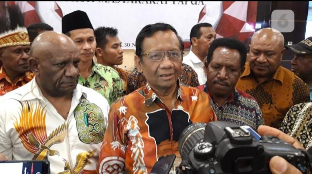 Menko Polhukam : Pemerintah Sungguh-Sungguh Ingin Membangun Papua Agar Lebih Maju
