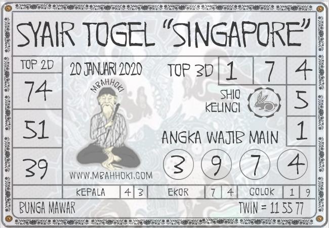 Syair Togel Singapore