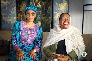 La Première dame de la Gambie a exprimé le souhait de suivre l'exemple des Comores