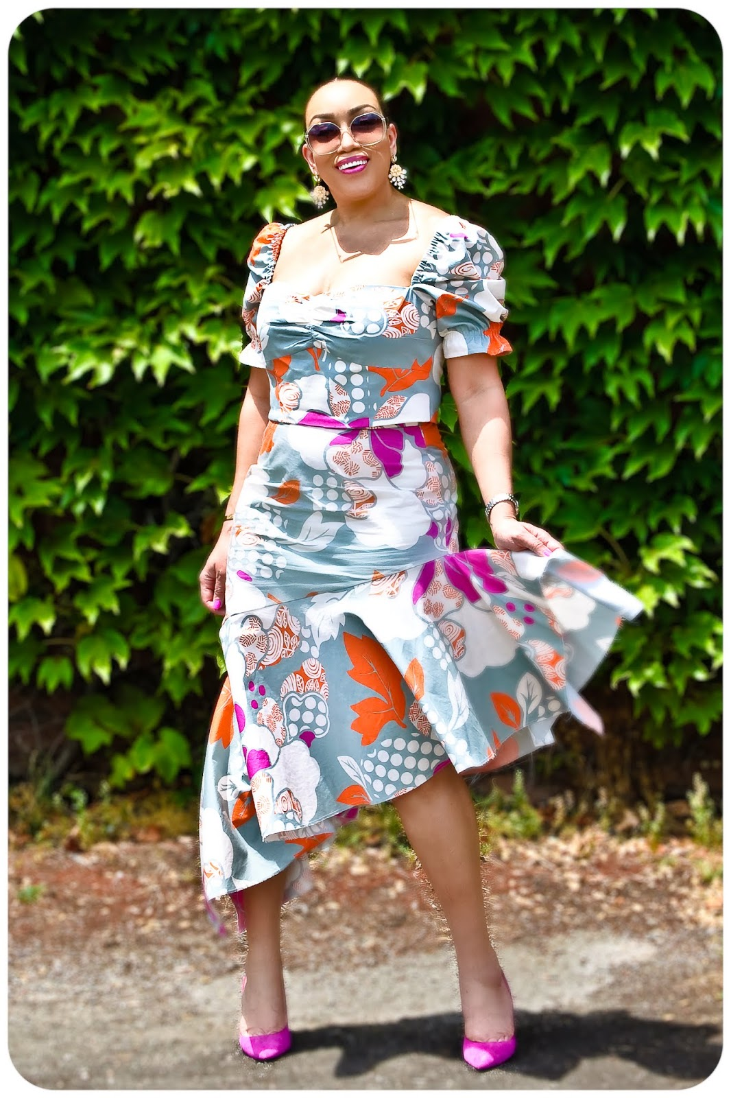 McCall's 7929 Top & McCall's 7725 Skirt - Erica Bunker DIY Style!