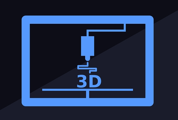 Icon photo of 3D printing.