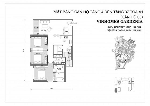 03 - Tòa A1 Vinhomes Gardenia