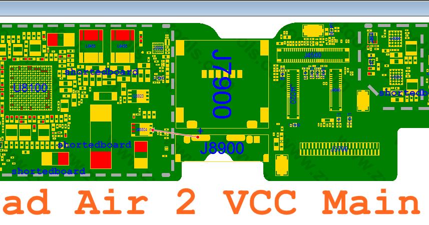 Ipad Air 2 Vcc Main