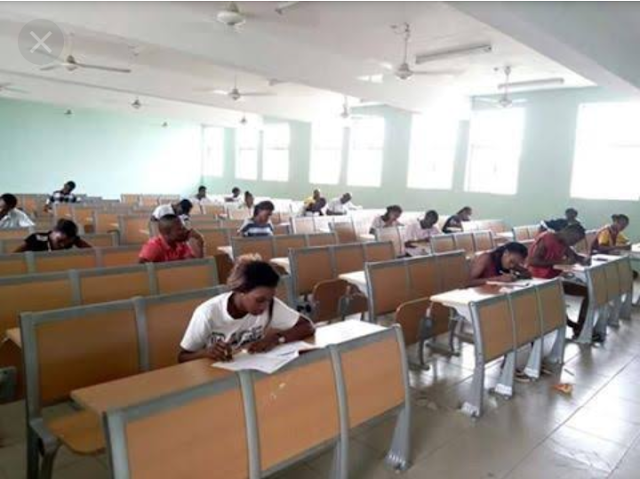 This Is What FUTO Exam Hall Looks Like (Photo)