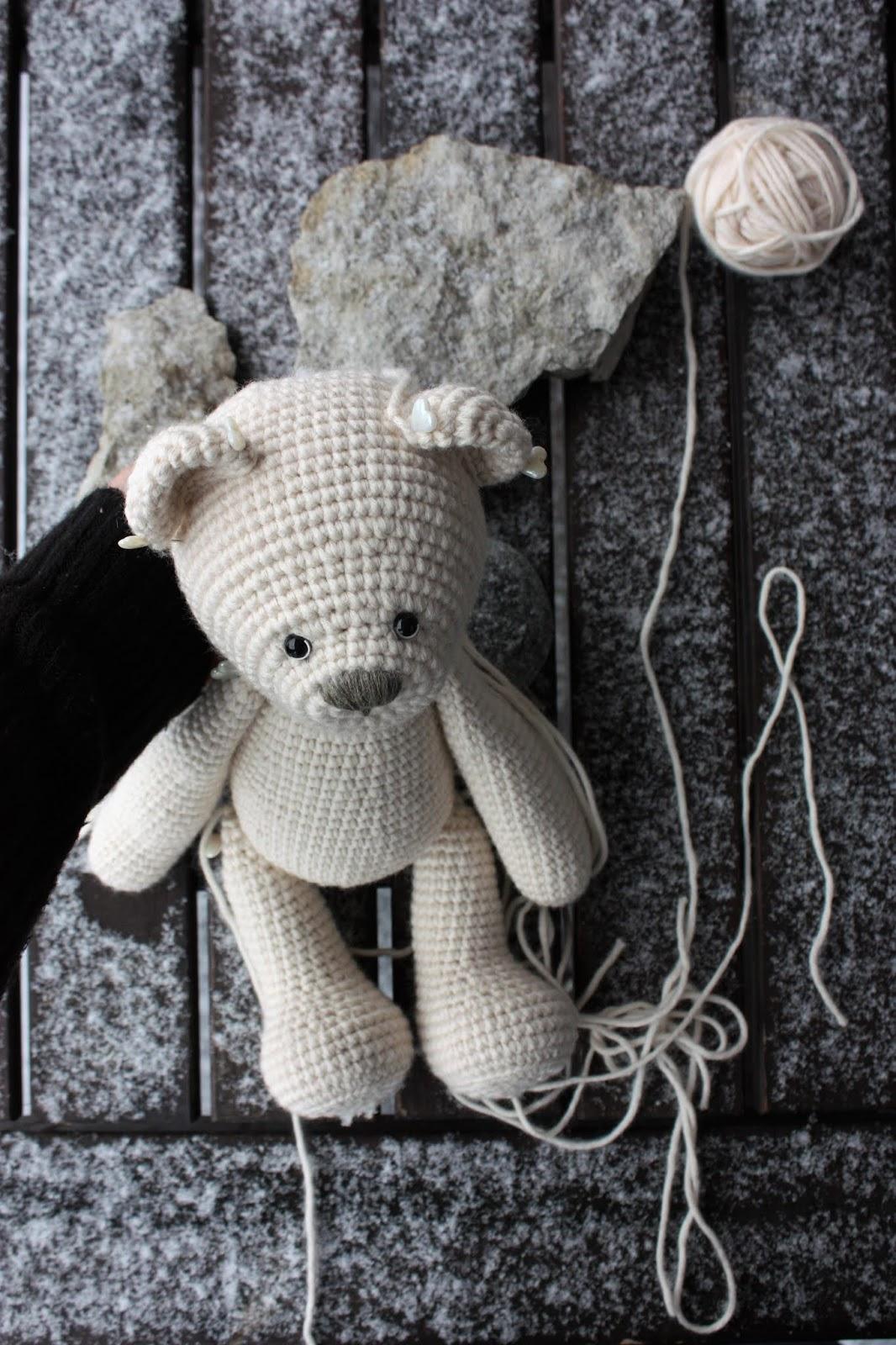 Little Crochet Bear Ears | Classy Crochet | 1600x1066