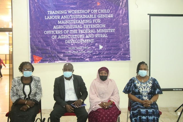 ILO/Agric Ministry Train Agric Extension Officers In Ondo, Ekiti, Osun And Oyo States On Combating Child Labour [Photos]