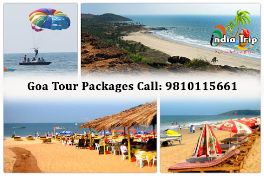 Goa Honeymoon Tour Packages from Delhi with India Trip