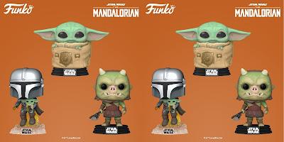 The Mandalorian Pop! Star Wars Series 4 Vinyl Figures by Funko