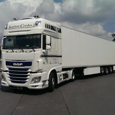 Fernfahrer Stephan Cordes Transporte