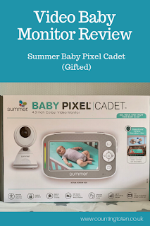 Gifted Review: Summer Infant Video Baby Monitor. The Baby Pixel Cadet