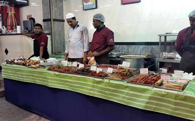 Kebab stalls at Charminar