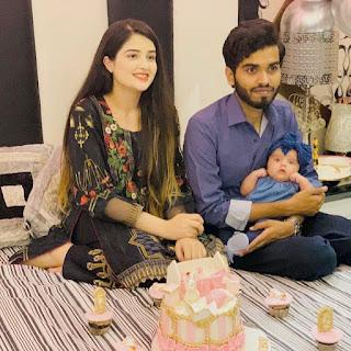 Zahra Waseem husband and daughter