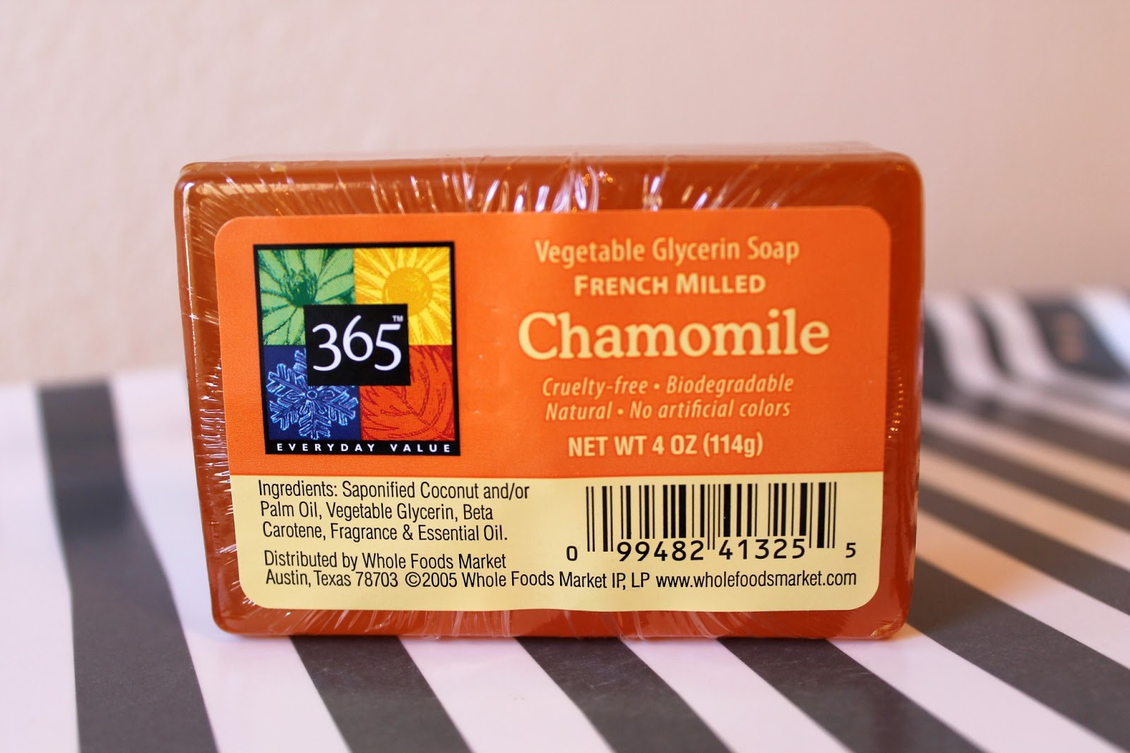 Whole Foods Vegetable Glycerin Soap