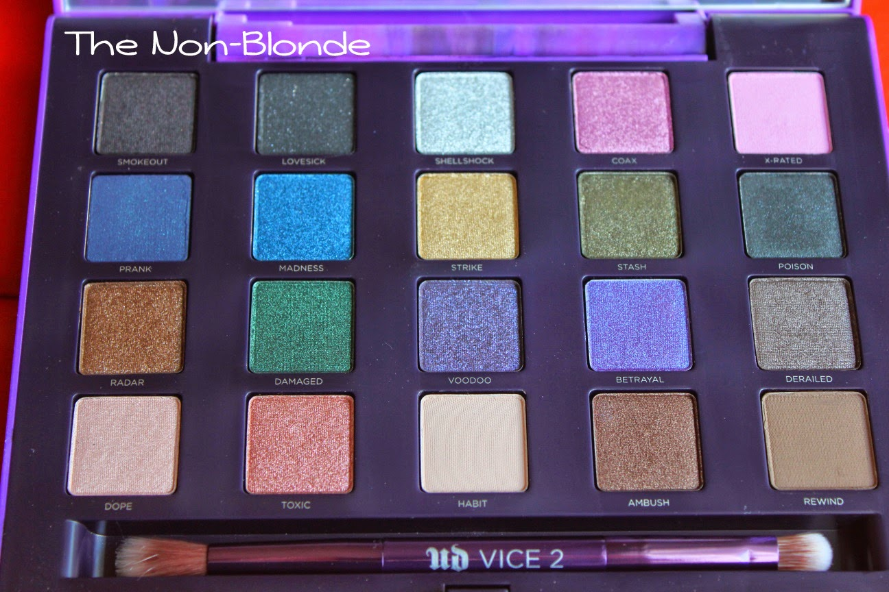 Urban Decay Naked 2 Eyeshadow Palette Review, Swatches |Urban Decay Palette 2