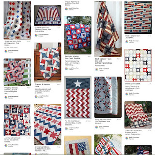 Patriotic Pinterest board by A Bright Corner