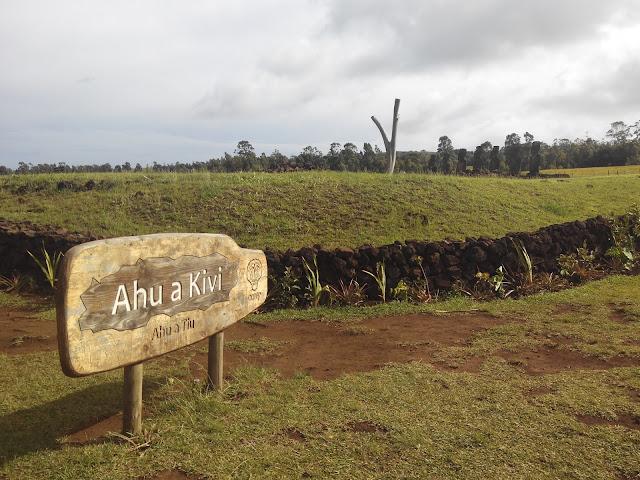 Ahu Akivi, Isla de Pascua