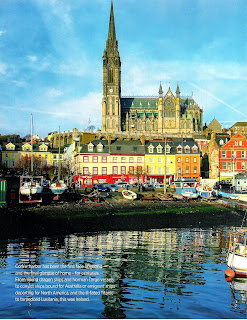Cobh,Ireland Page 46. Travel story by Janie Robinson, Travel Writer