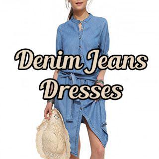 Denim Jeans Dresses for Spring!