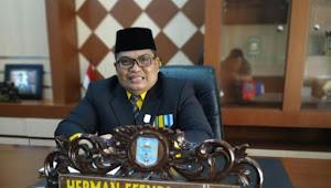 Herman Effendi, Mantan Kopral Itu Dilantik Jadi Ketua DPRD