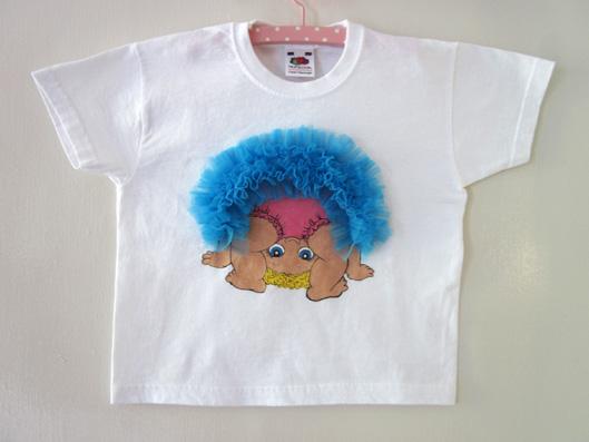 Camiseta decorada niña