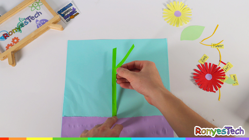 Grow an Origami Plant Craft Instruction Step3