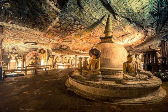 معبد كهف دامبولا