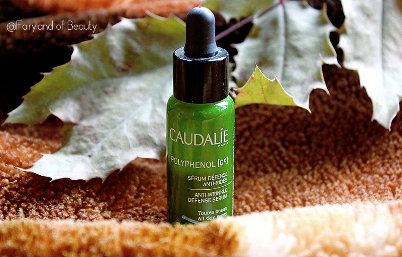 Отзыв: Антиоксидантная омолаживающая сыворотка Polyphenol [C15] Anti-Wrinkle Defense Serum от Caudalie.