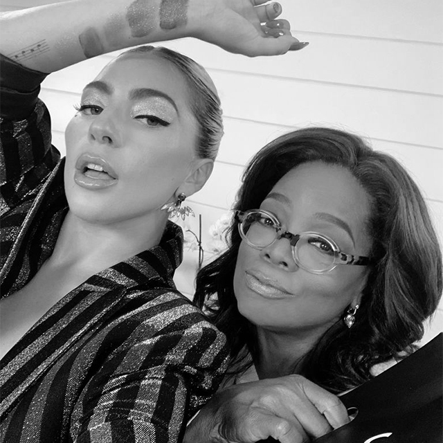 Lady Gaga to Appear on Oprah's 2020 Tour