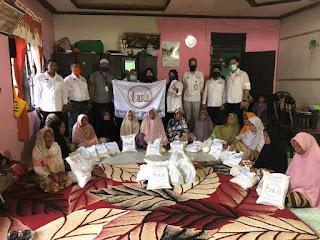 ASIA Peduli Bagikan Paket Sembako dan 1000 Masker Gratis Untuk Masyarakat Pedalaman Aceh
