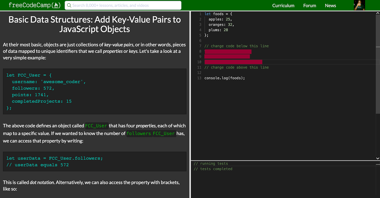 Just a Few Things  : Basic Data Structures: Add Key-Value